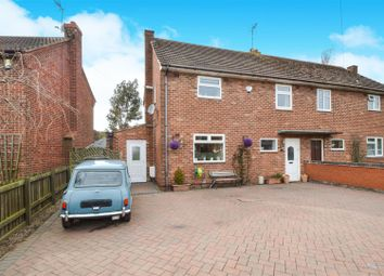 Thumbnail 3 bed semi-detached house for sale in Sowters Lane, Burton-On-The-Wolds, Loughborough