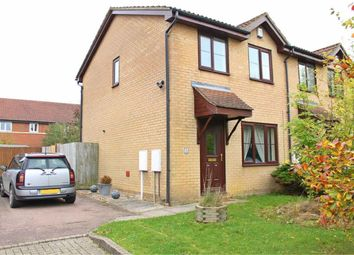 Thumbnail 3 bed end terrace house to rent in Wagner Close, Browns Wood, Milton Keynes, Bucks