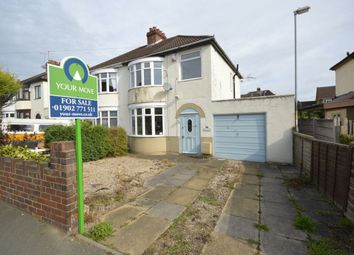 Thumbnail 3 bedroom semi-detached house for sale in Burland Avenue, Tettenhall, Wolverhampton