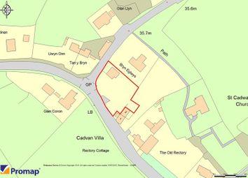 Thumbnail Land for sale in Bryn Eglwys, Llangadwaladr, Bodorgan, Anglesey