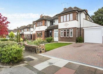Thumbnail 5 bedroom semi-detached house for sale in The Ridgeway, Southgate, London
