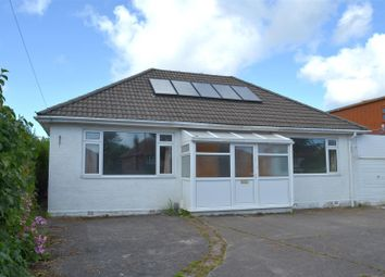 Thumbnail 4 bed detached bungalow for sale in Gower Road, Killay, Swansea