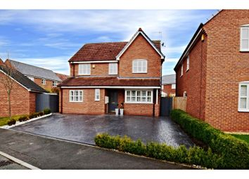 Thumbnail 4 bed detached house for sale in Pastures Drive, Crewe