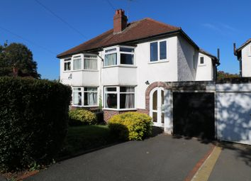 Thumbnail 3 bed semi-detached house for sale in Egginton Road, Hall Green, Birmingham