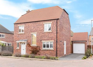 Thumbnail 4 bedroom detached house for sale in Elm Close, Selby