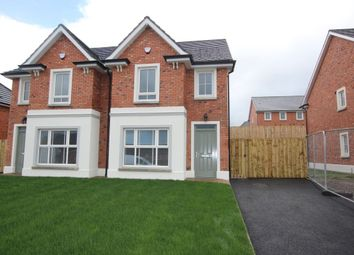 Thumbnail 3 bed semi-detached house to rent in Foxton Court, Newtownabbey