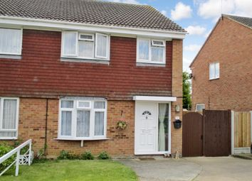 Thumbnail 3 bed semi-detached house for sale in Kinloch Chase, Witham