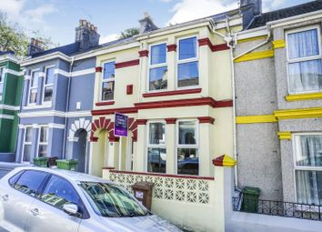 Thumbnail 4 bed terraced house for sale in Oxford Avenue, Plymouth