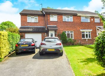 Thumbnail 4 bed semi-detached house for sale in Castle Fields, Leicester