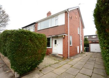 Thumbnail 3 bed semi-detached house for sale in Ridgeway, Roundhay, Leeds