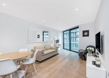 Thumbnail 2 bed flat for sale in Two Riverlight Quay, Nine Elms, London