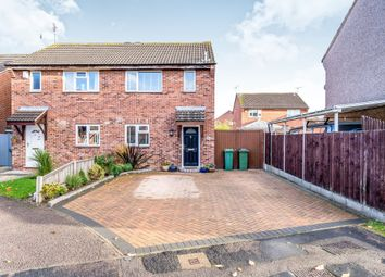 Thumbnail 3 bed semi-detached house for sale in Southfield Close, Glen Parva, Leicester