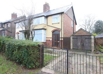 Thumbnail 3 bedroom semi-detached house for sale in Novi Lane, Leek, Staffordshire