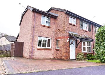 Thumbnail 4 bed semi-detached house for sale in Castleton Road, Swindon