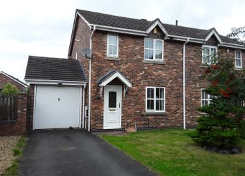 Thumbnail 3 bed property to rent in Marigold Court, Ketley, Telford
