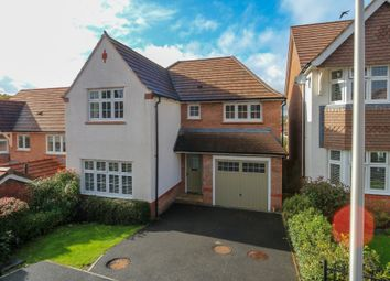 Thumbnail 4 bed detached house for sale in Larkspur Drive, Newton Abbot