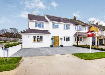 Thumbnail 4 bed semi-detached house for sale in Mountnessing Road, Billericay