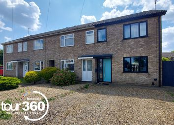 Thumbnail 3 bed end terrace house for sale in Gunthorpe Road, Peterborough