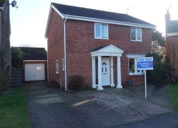 Thumbnail 4 bed detached house for sale in Ninfield Close, Carlton Colville, Lowestoft, Suffolk