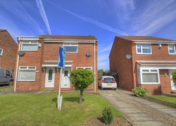 Thumbnail 2 bed semi-detached house for sale in Fox Howe, Coulby Newham, Middlesbrough