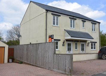 Thumbnail 3 bed semi-detached house to rent in Sourton Down, Okehampton