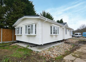 Thumbnail 3 bed mobile/park home for sale in Dome Caravan Park, The Spur, Lower Road, Hockley