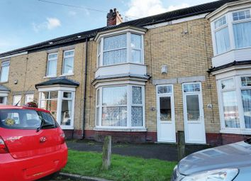 Thumbnail 3 bed terraced house for sale in Lawrence Avenue, Hull