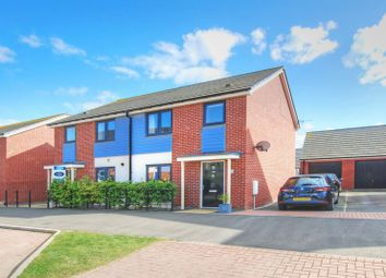 Thumbnail 3 bed semi-detached house for sale in Roseden Way, Newcastle Upon Tyne