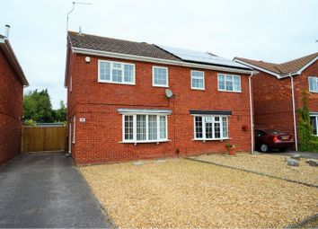 Thumbnail 3 bed semi-detached house for sale in Pimpern Close, Canford Heath, Poole