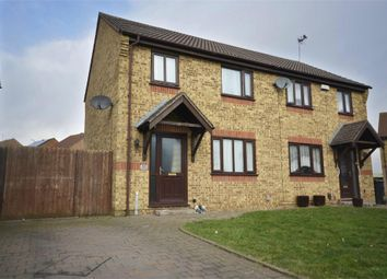 Thumbnail 3 bed semi-detached house for sale in De-Ferneus Drive, Raunds, Northamptonshire