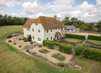 Thumbnail 5 bed detached house for sale in Sages End Road, Helions Bumpstead, Haverhill