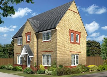 "Thumbnail 3 bed semi-detached house for sale in ""Morpeth 2"" at Bearscroft Lane, London Road, Godmanchester, Huntingdon"