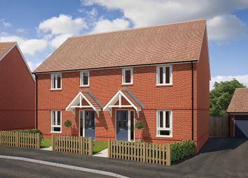 "Thumbnail 3 bed end terrace house for sale in ""The Charkley"" at Saunders Way, Basingstoke"