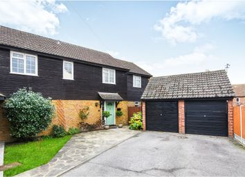 Thumbnail 5 bed semi-detached house for sale in Dorset Way, Billericay