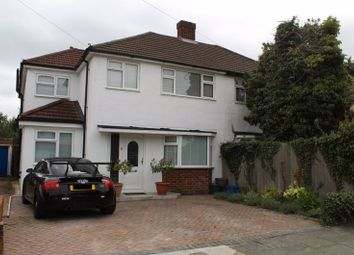 Thumbnail 4 bed semi-detached house for sale in Ringwood Way, Hampton Hill, Hampton