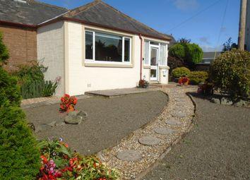 Thumbnail 3 bed semi-detached bungalow for sale in Church Crescent, Lochmaben Lockerbie
