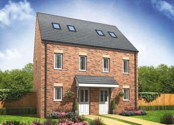 Thumbnail 3 bedroom town house for sale in Plot 110, The Moseley, Cardea, Peterborough