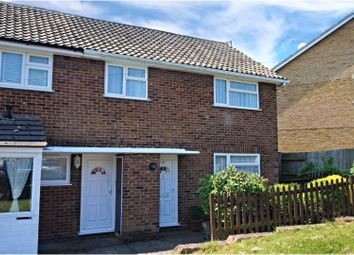 Thumbnail 3 bed end terrace house for sale in Laburnum Road, Rochester