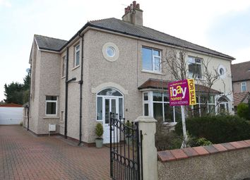Thumbnail 3 bed semi-detached house for sale in Queens Drive, Bare, Morecambe