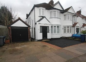 Thumbnail 2 bed flat for sale in Brook Avenue, Edgware, Greater London.