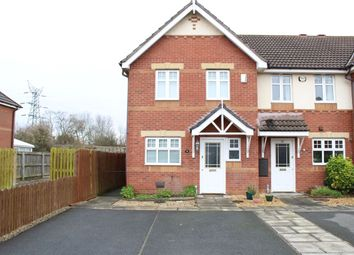 Thumbnail 3 bed end terrace house to rent in Hampton Chase, Prenton, Wirral