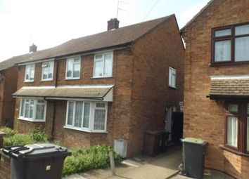 Thumbnail 3 bedroom semi-detached house for sale in Bradley Road, Luton, Bedfordshire