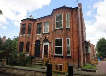 Thumbnail 8 bed semi-detached house to rent in Burlington Road, Withington, Manchester