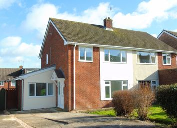 Thumbnail 3 bed semi-detached house for sale in Summerland Crescent, Llandough, Penarth
