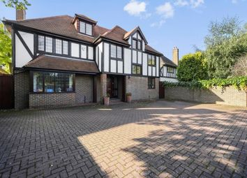 Thumbnail 5 bedroom detached house to rent in Oatlands Drive, Weybridge