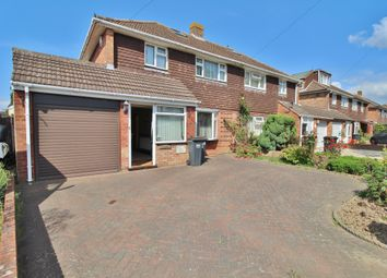 Thumbnail 3 bed semi-detached house for sale in Fitzwygram Crescent, Havant
