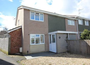 Thumbnail 4 bed end terrace house for sale in Woodleigh Road, Newton Abbot