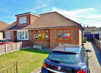 Thumbnail 3 bed semi-detached bungalow for sale in Second Avenue, Farlington, Portsmouth