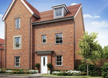 """Thumbnail 4 bed semi-detached house for sale in """"Woodcote"""" at Knights Way, St. Ives, Huntingdon"""