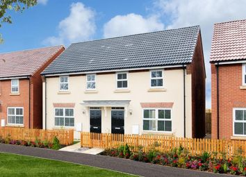 "Thumbnail 3 bedroom semi-detached house for sale in ""Archford"" at Bridlington Road, Stamford Bridge, York"